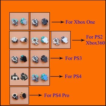 YuXi 3D Analog Handle Joystick Rocker Stick Sensor Module For Xbox One Xbox360  PS2 PS3 PS4 pro Controller Repair Parts недорого