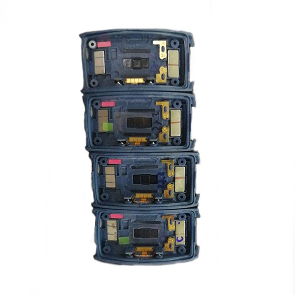 Image 3 - オリジナルバッテリーバックカバーとコネクタサムスンギアフィット 2 SM R360 スマート腕時計修理部品バッテリーケースシェル腕時計カバースマート アクセサリー   -