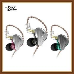KZ ZSX Terminator 5BA+1DD 12 Unit Hybrid In-ear Earphones HIFI Metal Headset Music Sport  ZS10 PRO AS12 AS16 ES4 ZSN PRO DMG DMS