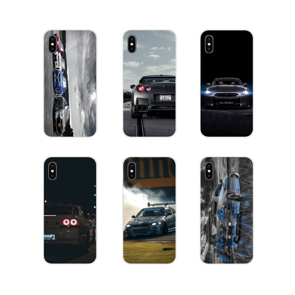 Автомобиль Nissan Skyline GTR R34 для Apple IPhone X XR XS MAX 4 4S 5 5S 5C SE 6 6S 7 8 Plus, ipod touch 5 6 прозрачные чехлы из термопластичного полиуретана