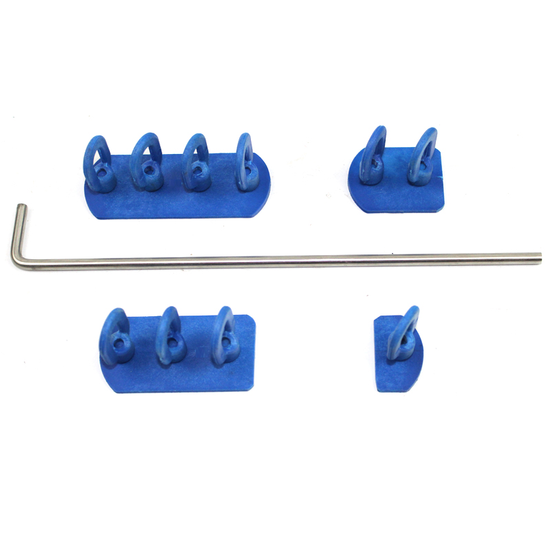 PDR chain glue tabs with L sticks car dent repair tools kit for dent puller dent lifter