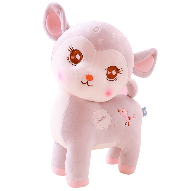 28/36/46cm Soft Toys Kawaii Plush Peluche Cute Deer Stuffed Animals  Plush Toys For Children Doll Gifts  Stuffed & Plush Animals