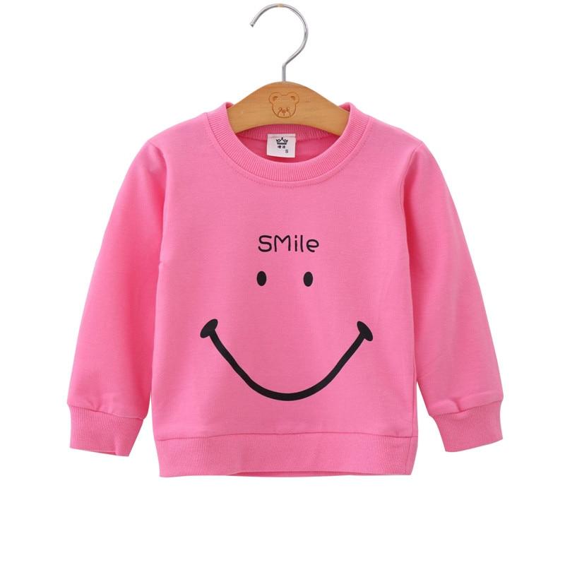 Boys Sweatshirts Children's Korean Baby Boy Clothes Toddler Baby Girls Sweatshirt Casual Clothes 12M3T6T Baby Girl Sweatshirt 1