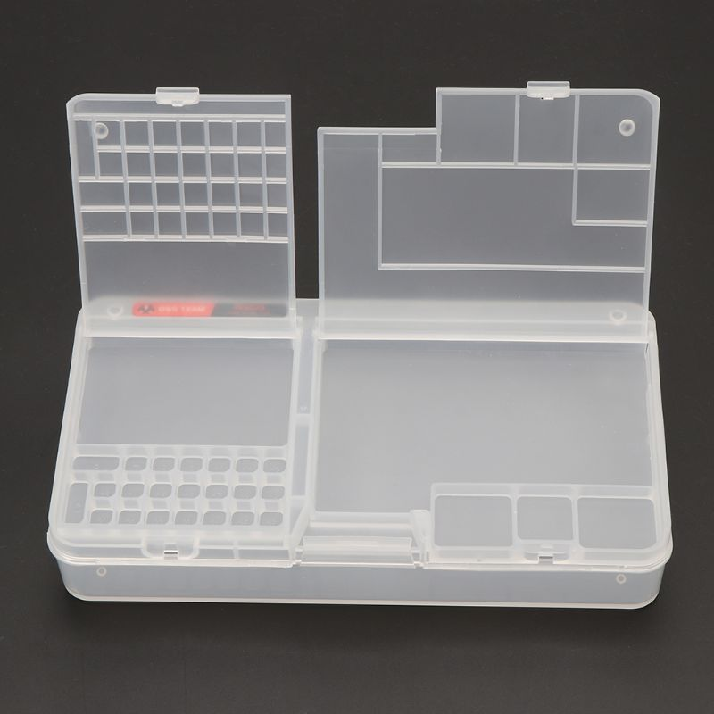 Drop Wholesale Multi Functional Mobile Phone Repair Storage Box For IC Parts Smartphone Opening Tools Collector