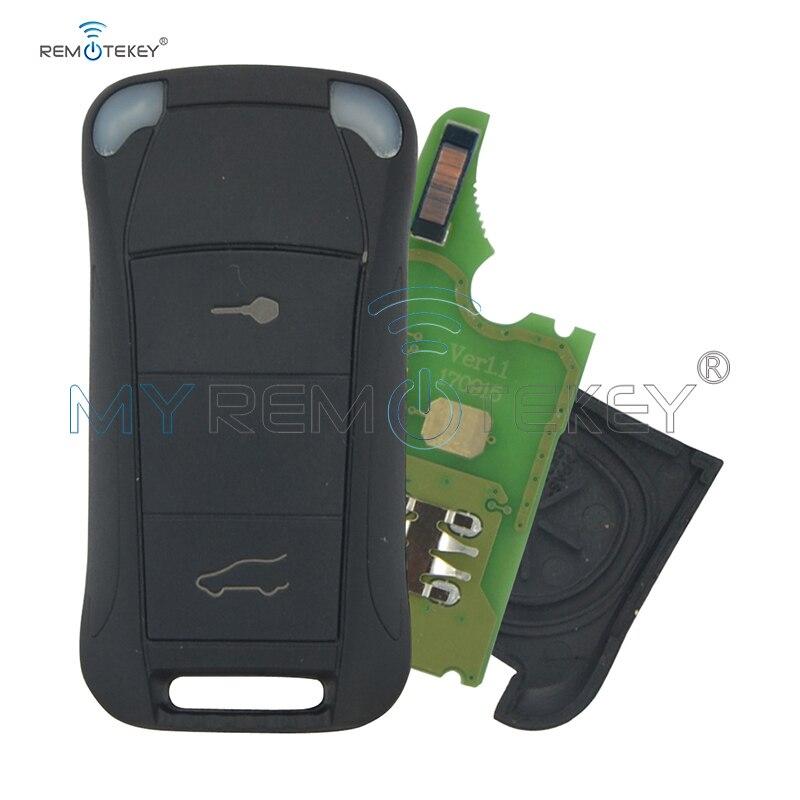 Remtekey Flip remote car key 2 button 434Mhz for Porsche Cayenne 2003 2004 2005 2006 2007 2008 2009 2010 2011 2012|Car Key| |  - title=