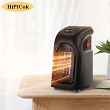 Hipicok ventilador aquecedor elétrico casa aquecedores mini 220v sala de parede ar acessível aquecedor aquecimento cerâmico ventilador mais quente para casa escritório acampamento