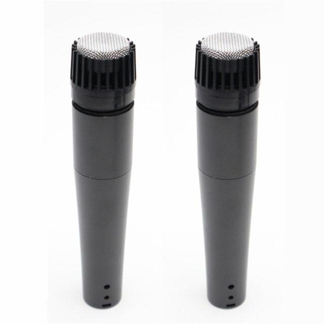 2 adet mikrofon Dyanmic kapsül kayıt stüdyosu SM57 profesyonel gitar amplifikatörü bateri seti enstrüman mikser ses