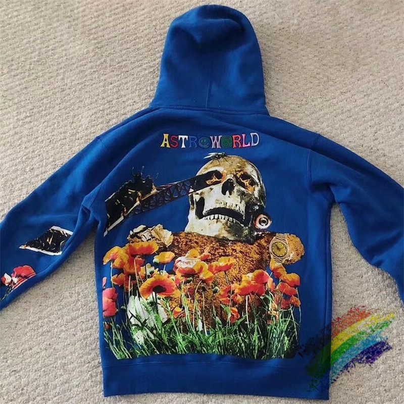 Travis Scott Governors Ball Astroworld Hoodie Women Men embroidery high Quality Thick Washed Do Old Mens Pullover