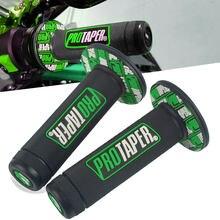 Для Kawasaki D-TRACKER KDX KLX 125 140 150 175 200 220 250 300 450 650 SR G L BF S R S ручка для велосипеда 22 мм Крышка для рукоятки