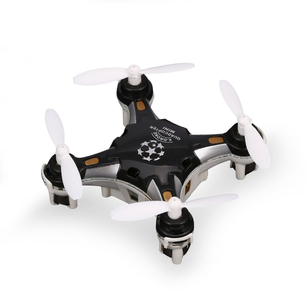 FQ777 124 2 4G 4CH Six-axis Gyro Mini Drone 360 Degree Flip Headless Mode One Key Return RC Pocket Quadcopter RTF with Light