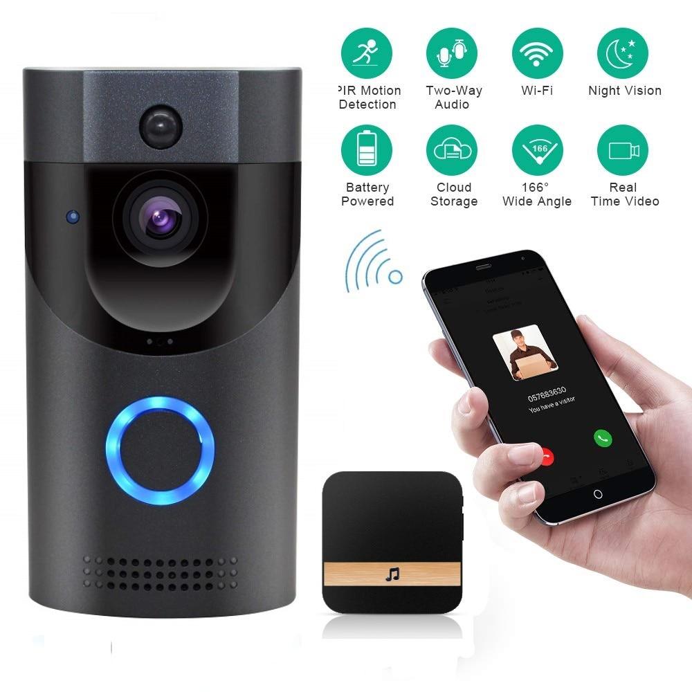 Onvian WiFi Doorbell Camera Waterproof Video Door Bell Camera Smart IP Video Intercom Door Bell FIR Alarm IR Night Vision