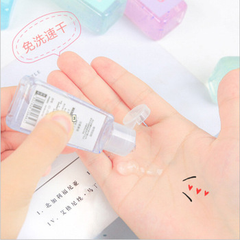 30ml Mini Alcohol Sanitizer Sterilizing Children's Vial Portable Wipes Water Free Hand Rub