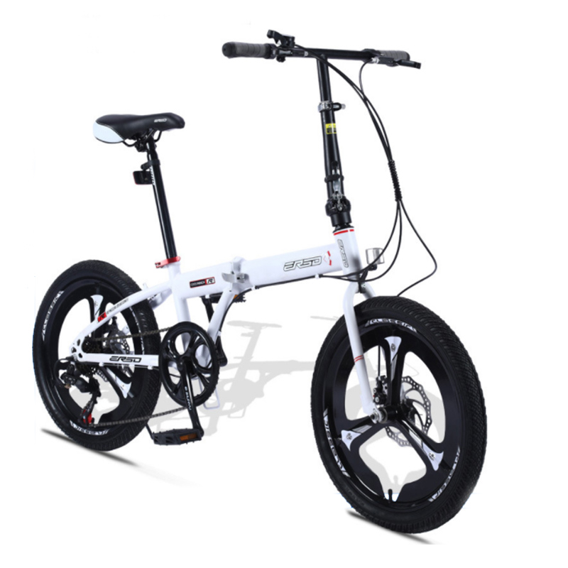 Super Lightweight Women's Folding Bike  Variable Speed Student Bicicleta 20