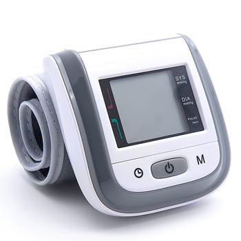 BOXYM Medical Fingertip Pulse Oximeter & LCD Wrist Blood Pressure Family Health Care Travel Packages 6