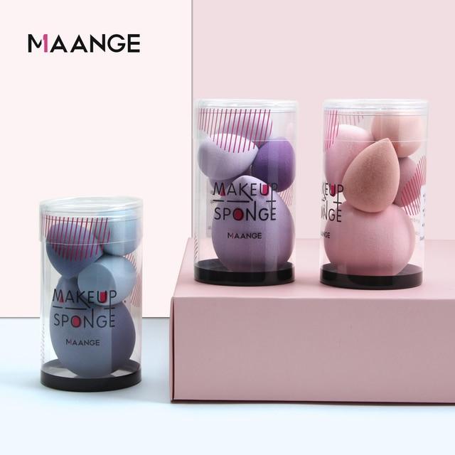 MAANGE 4/5PCS Mini Makeup Sponge Wet Become Bigger BB Cream Cosmetic Puff Foundation Concealer Powder Puff Beauty Make up Tool 5