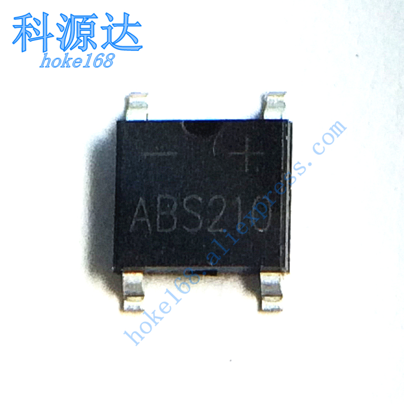 10pcs/lot ABS210 ABS10 DB107S DB106S SOP4  Bridge Rectifier In Stock