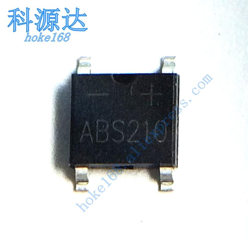 10pcs/lot ABS210 ABS10 DB107S DB106S SOP4  Bridge Rectifier In Stock
