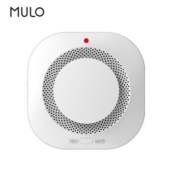 MULO PA441 detektor dymu ochrona przeciwpożarowa Alarm strona główna dla Home Office podłącz 433MHz System alarmowy bezpieczeństwo strażacy tanie i dobre opinie Rohs CN (pochodzenie) Czujka dymu DC9V alkaline battery (no include) Office Home Smoke Alarm System 433mhz(NO WIFI Function)