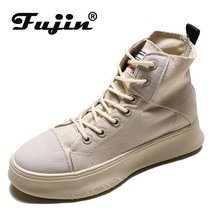 Fujin 2019 New Woman Boots Ankle Boot for Woman Solid Color Shoes Spring Autumn Rain Boots Non-Slip Female Casual Shoe цена 2017