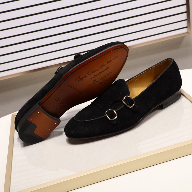 Men's casual suede loafers 6