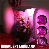 Smuxi 50W Led Grow Light Full spectrum Dimming+Timer High Power 38LED Grow Light LED Phyto Flood Lights Hydroponic seeding DC5V