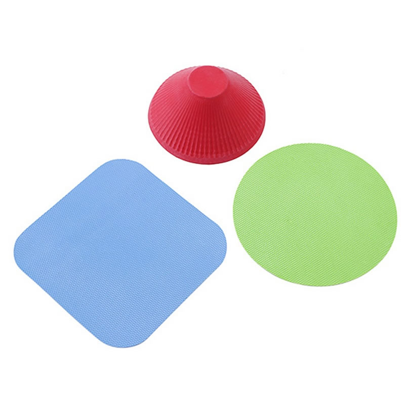 3PCS Silicone Jar Opener Multi-Purpose Round Pad Non Slip Bottle Lid Openning Multi-function Open Capping Tool Kitchen Gadgets