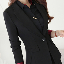 Womens Formal Suits Workwear Office Lady Uniform Breasted Of