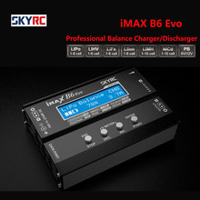 Original skyrc imax b6 evo 6a 60w carregador de equilíbrio descarregador bluetooth para nimh nicd lihv nicd pb li-ion xt60 carregador de bateria