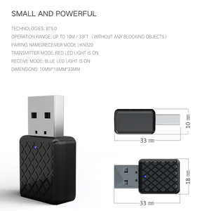 Image 3 - 5.0 Bluetooth Transmitter Receiver Mini 3.5mm AUX Stereo Wireless Bluetooth Adapter For Car Music Bluetooth Transmitter For TV