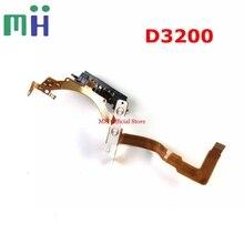 اليد الثانية لنيكون D3200 الجبهة الجسم فليكس مرآة صندوق عدسة كابل الاتصال FPC كاميرا استبدال قطع الغيار