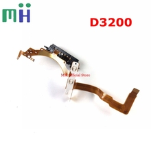 Seconde main pour Nikon D3200 corps avant Flex boîte de miroir lentille câble de Contact FPC caméra pièce de rechange