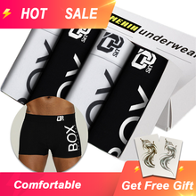 4pc/lot Boxershorts Men Boxers Male Underwear Man Panties Cotton Soft Short Boxer Mesh Mens Hombre Cueca Plus Size OR212(China)