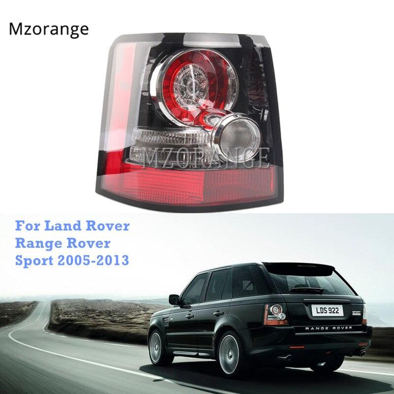 MZORANGE Led Luz de cola para Land Rover Range Rover Sport 2005-2013 luz trasera de freno de niebla Drl lámpara estilo de coche de alta calidad