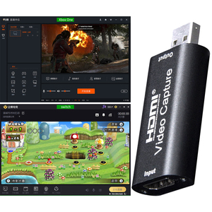 Dropshipping USB 2.0 Video Capture Card HDMI Video Grabber Live Streaming Record Box Capture Cards HDMI Video Capture Card
