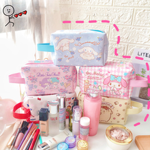21cm Cute Handbag Little Devil Bag Big Ear Dog bunny Puding Storage Case Kawaii Cartoon Cosmetic Bag Toys Gift For Girls