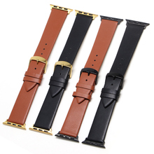 цена на 3 Color Hot Sell Leather Watchband for Apple Watch Band Series 5/3/2/1 Sport Bracelet 42 mm 38 mm Strap For iwatch 4 Band