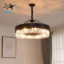 Modern Led Chandelier For Living Room Round Hanging Lamp Luxury Home Decoration Light Fixtures Dining Room Bedroom Led Lighting