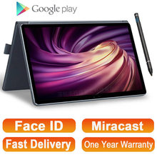 2021 voll Neue 11,6 Zoll 2 in 1 Tablet GPS Android MT6797 10 Kerne Gaming PC Tabletten 4G Telefon call Laptop Tablet mit Tastatur