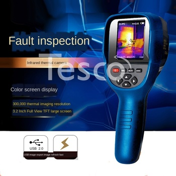 Thermal Imager Infrared Thermal Imager Handheld Temperature Measuring Gun Floor Heating Thermal Leak Detecting Thermometer HT-18 sea surface temperature variations near thermal power plants