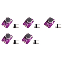 HOT-5 Pcs GY-MAX4466 Microphone AGC Amplifier Board Module Auto Gain Control Attack for Arduino MAX4466 PCB Board Diy Kit