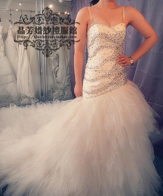 Casamento Romantic Sexy Luxury Crystal Ball Tulle New Sweetheart Vestido De Novia Wedding Dress 2016 Bridal Gown Free Shipping