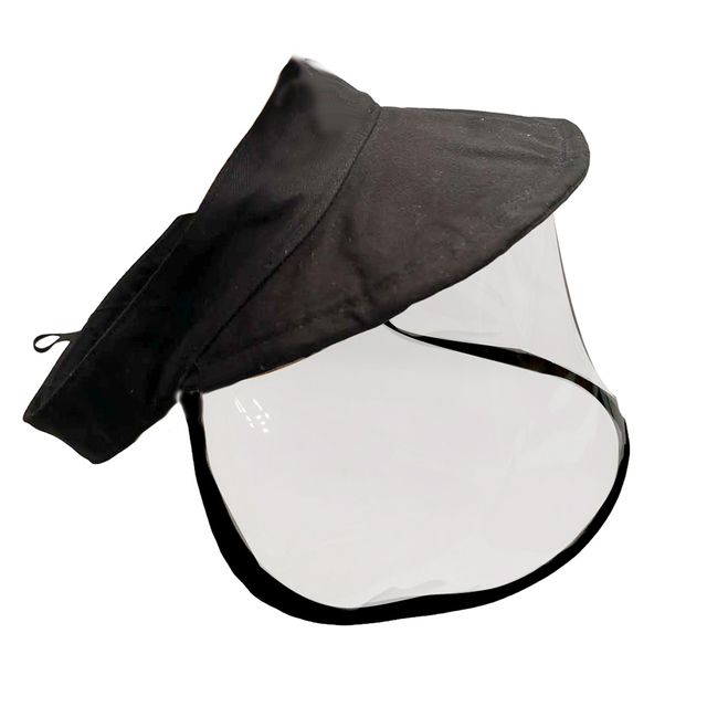 Kid Adjustable Anti Saliva Droplet Safety Health Protection Sun Protection Face Shield Visor Cap Sunhat Sunscreen Fisherman Cap 3