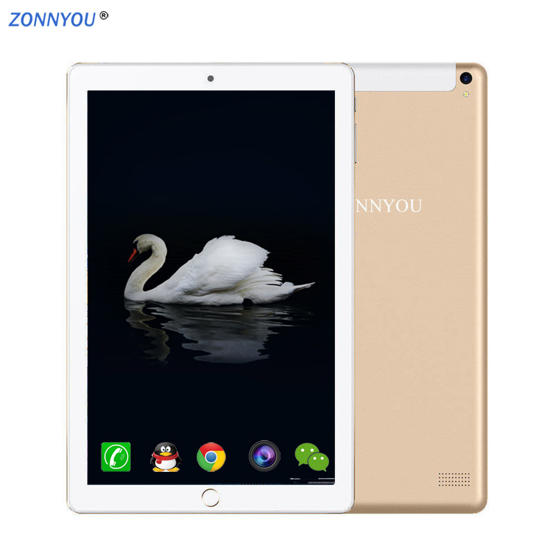 10.1 Inch Tablet PC Android 8.0 4G/3G Phone Call 6GB/128GB Octa Core Wi-Fi Bluetooth Dual SIM Support Tablet+keyboard