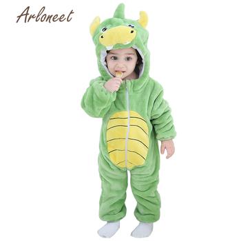 Odzież dla niemowląt chłopców odzież dla niemowląt jesień płaszcz zimowy noworodka śpioszki dla niemowląt dla dziecka dziewczyny kombinezon Halloween kostium dla dzieci znosić tanie i dobre opinie ARLONEET Unisex Moda W wieku 0-6m 7-12m 13-24m 25-36m 3-6y 7-12y 12 + y CN (pochodzenie) Z kapturem 9-24 COTTON Akrylowe