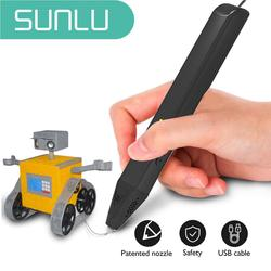 SUNLU SL-600 3D Printing Pen With Supports PLA/PCL Filament 1.75mm Creativity&develop Spatial Thinking