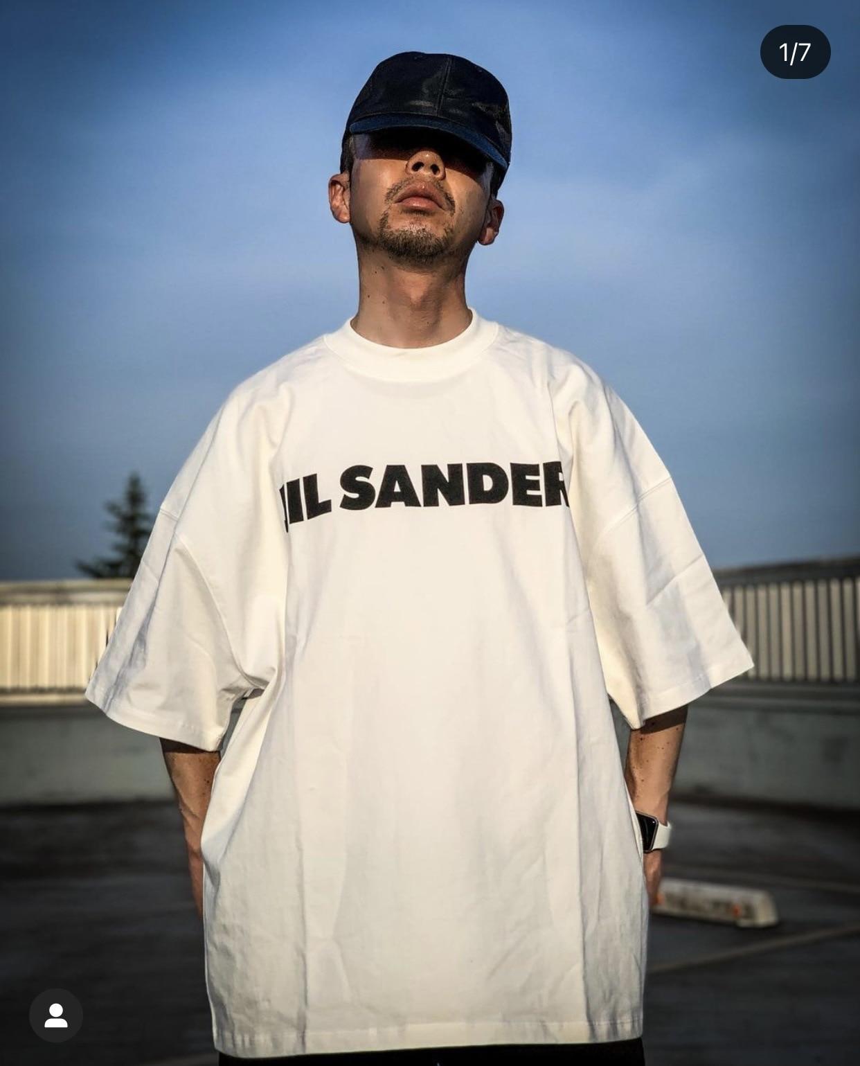 Футболка Jil в минималистическом стиле мужская, Свободный Топ с принтом надписи «шлиф», уличная одежда в стиле хип-хоп, 1:1