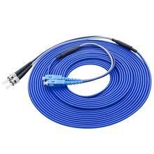 SC/UPC zu ST/UPC Gepanzerte Faser Patch Kabel Duplex Single mode Gepanzerte optical patchkabel