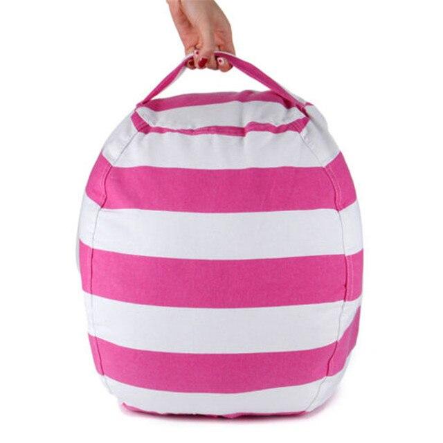 Stuffable Animal Toys Storage Bean Bag Stuffed Children Kids Plush Toy Organizer Multi-Purpose Large Capacity 5