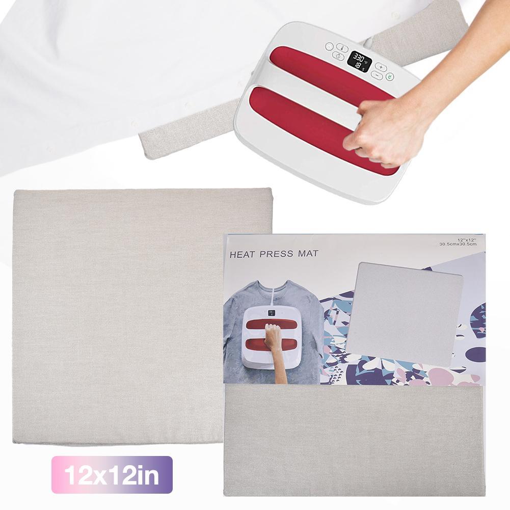 Ofis ve Okul Malzemeleri'ten Kesme Paspaslar'de Isı basın paspaslar ütü yalıtım Transfer ısıtıcılı paspaslar Cricut için Easypress title=