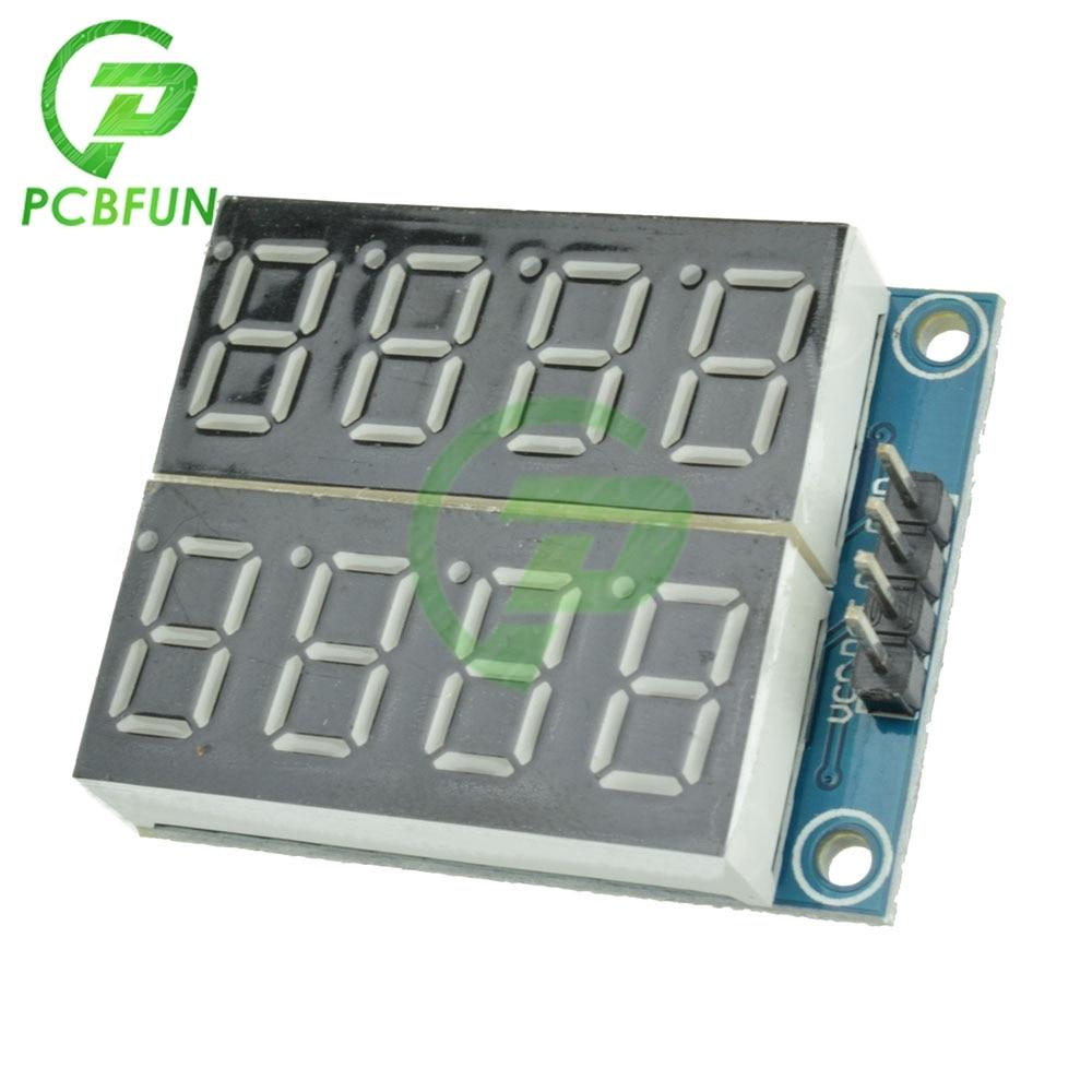 74HC595 8Bit 8-Digit LED Nixie tube Display Module Red Digital Tube
